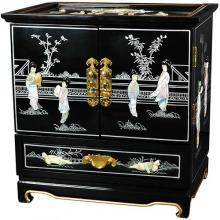 Empress Lacquer Jewel Box (Black) :: Oriental Boxes and Trunks