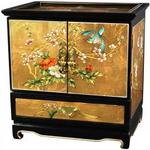Empress Lacquer Jewel Box (Gold Leaf) :: Oriental Boxes and Trunks