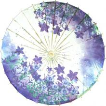 Purple Delight :: Paper Umbrellas