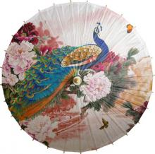 Fabulous Peacock :: Paper Umbrellas