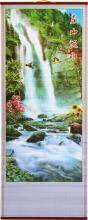 Spring Waterfall Chinese Scroll :: Chinese Scrolls