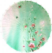 Seagreen Blossoms :: Paper Umbrellas