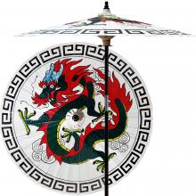 Shaolin Dragon (Beijing White) :: Outdoor Patio Umbrellas
