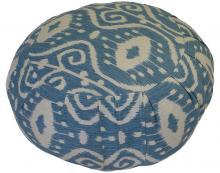 Bali Blue Meditation Zafu Cushion ::