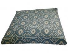 Bali Blue Zabuton Meditation Cushion :: Zabuton Cushions