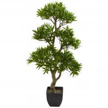 "37"" High Bonsai Styled Podocarpus Artificial Tree :: Artificial Bonsai Trees"