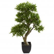 "37"" High Podocarpus Artificial Tree :: Artificial Bonsai Trees"