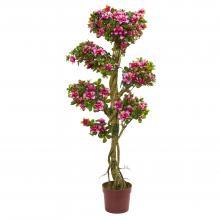 5 foot Azalea Artificial Tree :: Artificial Bonsai Trees
