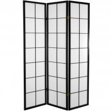 6 ft. Tall Japanese Shoji Room Divider :: Japanese Shoji Screens