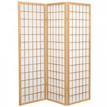 5 ft. Tall Japanese Window Screen (Natural Finish) :: Japanese Shoji Screens