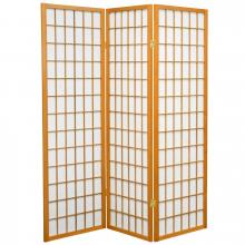 5 ft. Tall Japanese Window Screen (Honey Finish) :: Japanese Shoji Screens