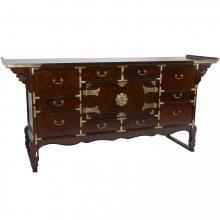 Korean Tansu Style 13 Drawer Buffet Server :: Asian Style Furniture