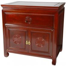 Rosewood Bedside Cabinet :: Asian Style Furniture
