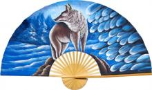 Alaskan Wolf :: Decorative Wall Fans
