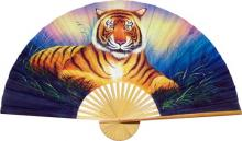 Asian Tiger :: Decorative Wall Fans