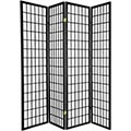 Japanese Window Screen (Black Finish) thumbnail 1