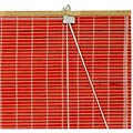 Bamboo Roll Up Blinds - Red thumbnail 1