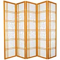 Bamboo Sunrise Japanese Shoji Screen (Honey Finish) thumbnail 2