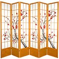 "84"" Japanese Cherry Blossom Screen (Honey Finish) thumbnail 3"