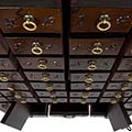 Korean Antique Style 49 Drawer Apothecary Chest thumbnail 3