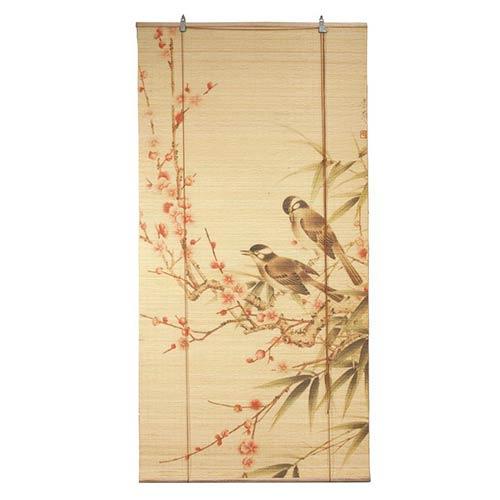 Window Blinds Love Birds Bamboo Blinds