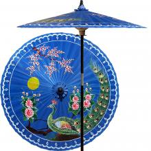 Victory of the Peacock (China Sea Blue)