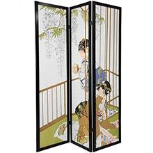 Geisha Shoji Screen