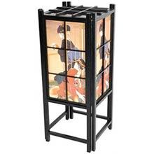 Japanese Geisha Lamp (Black Finish)