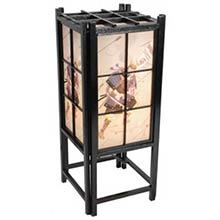 Japanese Samurai Lamp (Black Finish)
