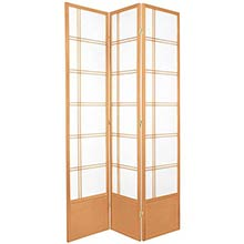 "84"" Yuku Aki Screen (Natural Finish)"