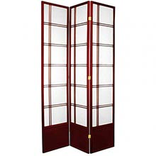 "84"" Yuku Aki Screen (Rosewood Finish)"