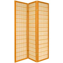 Double Side Koji Japanese Shoji Screen (Honey Finish)