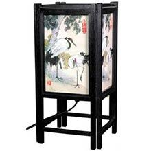 Cranes Chinese Lamp