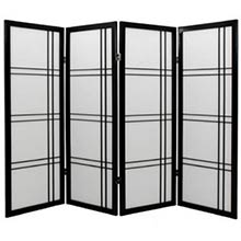 "48"" Zen Shoji Screen (Black Finish)"