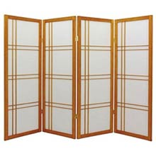"48"" Zen Shoji Screen (Honey Finish)"