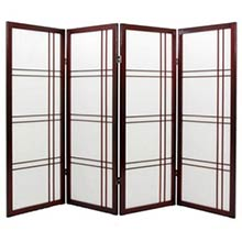 "48"" Zen Shoji Screen (Rosewood Finish)"