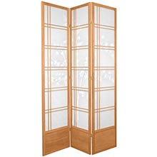 "84"" Bamboo Sunrise Shoji Screen (Natural Finish)"