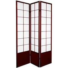 Japanese Zen Shoji Screen (Rosewood)