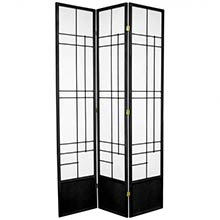 "84"" Hinaga Shoji Screen (Black Finish)"