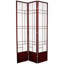 "84"" Hinaga Shoji Screen (Rosewood Finish)"