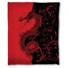 Asian Dragon Blanket