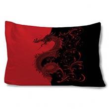 Asian Dragon Pillow Case