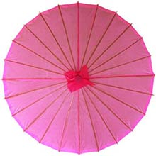 Pink Asian Parasol