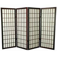 "48"" Window Screen (Rosewood Finish)"