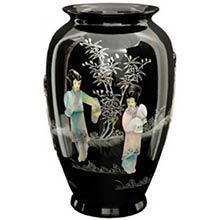 Black Tung Chi Vase