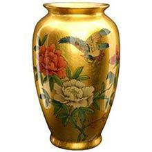 Gold Tung Chi Vase