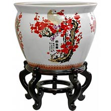 Cherry Blossom Fish Bowl
