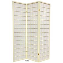 Ivory Japanese Window Screen