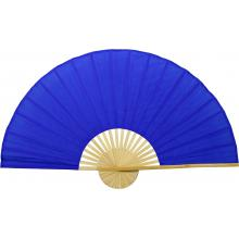Solid Blue Unpainted Fan