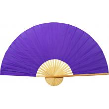 Solid Purple Unpainted Fan